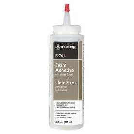 shop armstrong white sheet vinyl flooring adhesive actual net contents 8 fl oz at lowes