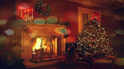 atmosphere lights fireplace decorations hd wallpapers