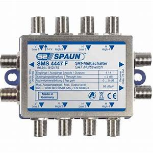 Quattro Lnb Multischalter : spaun multischalter sms 4447 quattro lnb ~ Watch28wear.com Haus und Dekorationen
