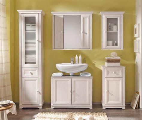 badezimmer unterschrank kommode badezimmer unterschrank 1 türe landhaus lärche weiß