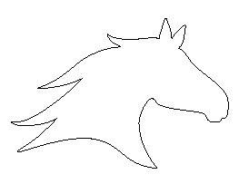 horse head pattern gourds pinterest horse head