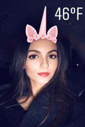 Victoria Justice - Social Media 11/10/2017