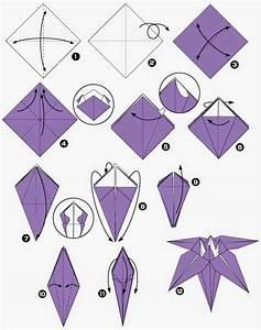 Fleur En Origami Facile : como fazer origami passo a passo toda atual ~ Farleysfitness.com Idées de Décoration