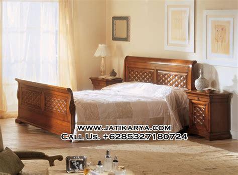 jual tempat tidur minimalis jepara kayu jati jati karya