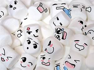 marshmallows with anime faces by anastasia309 on DeviantArt