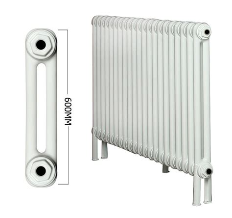 apollo roma  section  column radiator welded feet