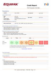 Credit Bureau Report Sle by Credit Reports Template Best Business Template
