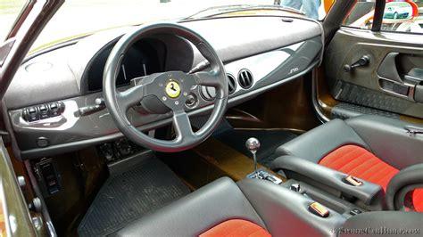 F50 interior, Ferrari F50 interior