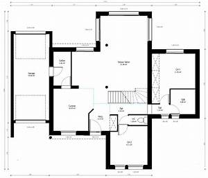 Plan Maison A Etage : plan maison individuelle 4 chambres 82 habitat concept ~ Melissatoandfro.com Idées de Décoration