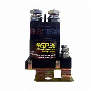 Sgp38 Stinger 80 Amp Power Relay Battery Isolator High