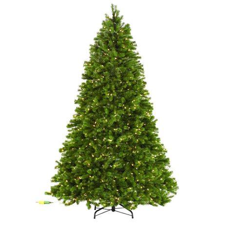 martha stewart faux christmas tree martha stewart living 7 5 ft indoor pre lit led downswept