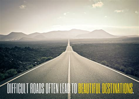 inspirational quote difficult roads lakehouse recovery