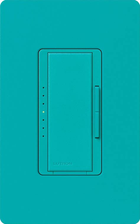 dimmer switch for led ls lutron macl 153m tq turquoise maestro cl dimmable cfl or led dimmer switches for single pole or