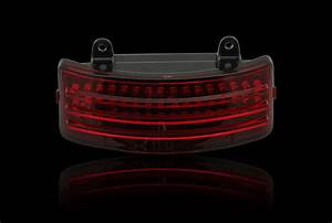Custom dynamics black tri bar led rear fender light