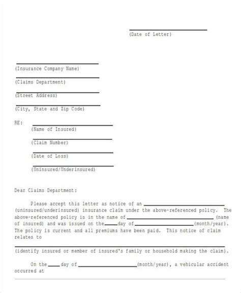 demand letter to insurance company 44 demand letter exles sle templates 9355