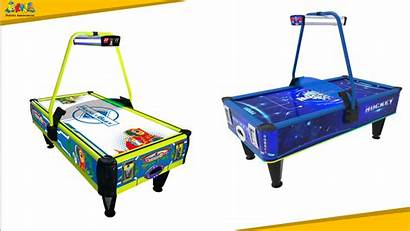 Machine Hockey Air Indoor Operated Coin Entertainment