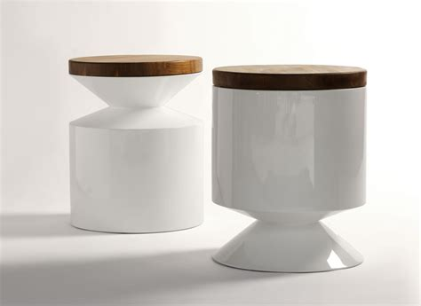 side table modern design phase design reza feiz designer griffin stool side