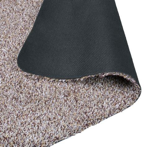 Cotton Door Mat by Absorbent Barrier Floor Door Mat Cotton Blend Non Slip