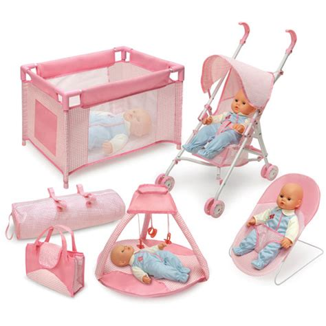 Baby Doll Beds Walmart by Badger Basket Doll Furniture Set Walmart