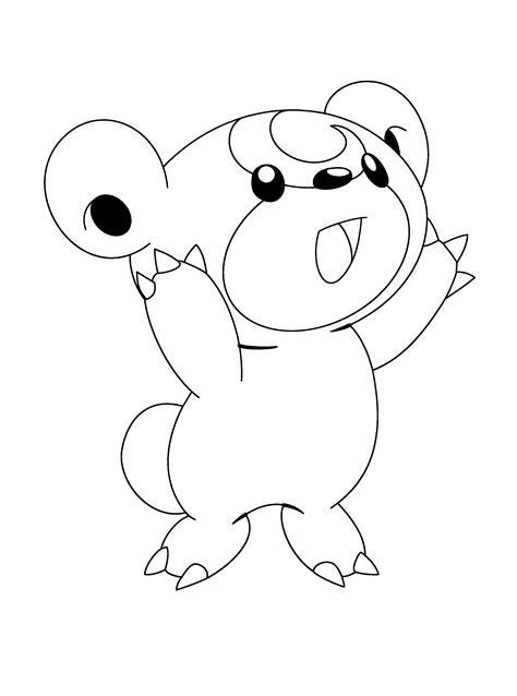 150 dibujos de Pokemon para colorear Oh Kids Page 1