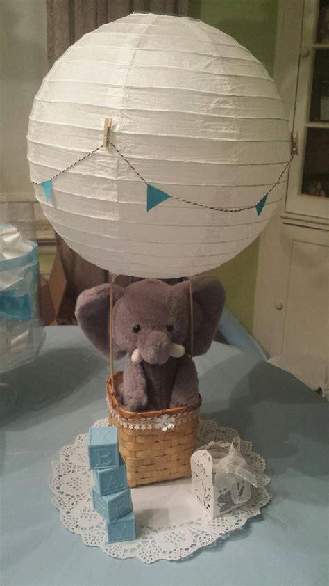 elephant hot air balloon centerpiece elephant centerpiece
