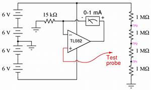 Digital Voltmeter Circuit Schematic Diagram