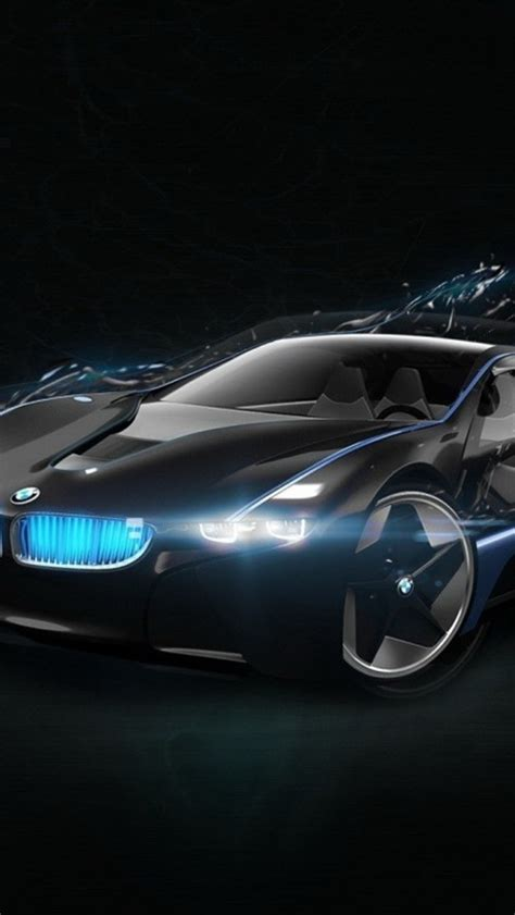 Bmw Black Wallpaper Iphone Car by Bmw Concept Car Black Wallpaper Free Iphone Wallpapers