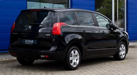 Peugeot Family by File Peugeot 5008 Hdi Fap 150 Family Heckansicht 9