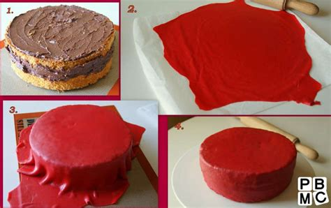 decoration gateau pate a sucre facile