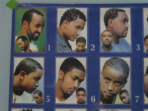Barbershop Poster Hair Styles African Vintage Poster From