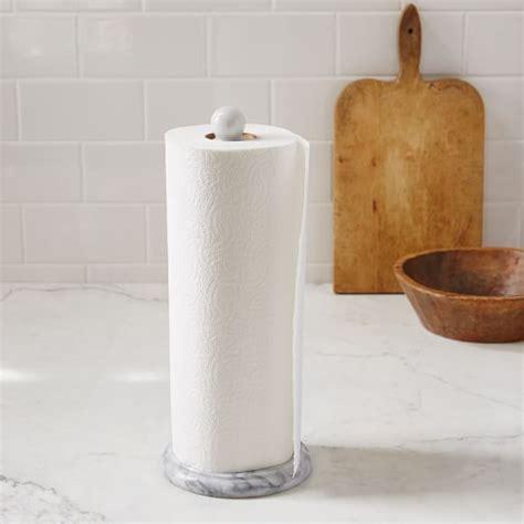 marble napkin holder marble paper towel holder west elm 4020