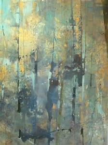 """Contemporary Painting - """"Forest Memory"""" (Original Art from ..."""