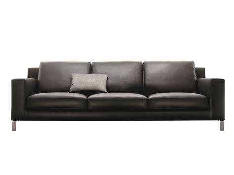 molteni c sofa lido leather sofa by molteni c design hannes wettstein