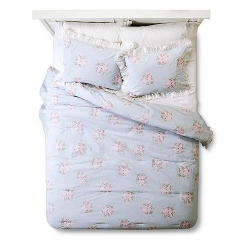 simply shabby chic bouquet rose bouquet comforter simply shabby chic target