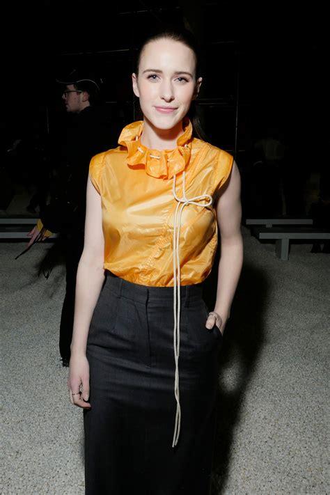 Rachel Brosnahan Calvin Klein Fashion Show Nyfw