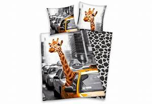 New Yorker Bademode : wendebettw sche young collection new york safari mit giraffe online kaufen otto ~ Yasmunasinghe.com Haus und Dekorationen
