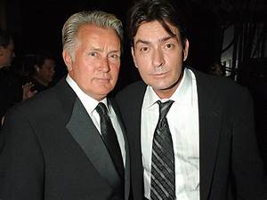 Charlie Sheen: Martin Sheen Applauds Son's Courage for HIV ...