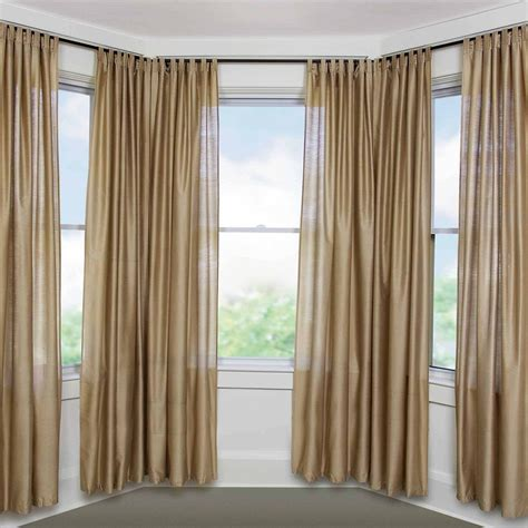 custom drapes small bay window curtain rods robinson decor