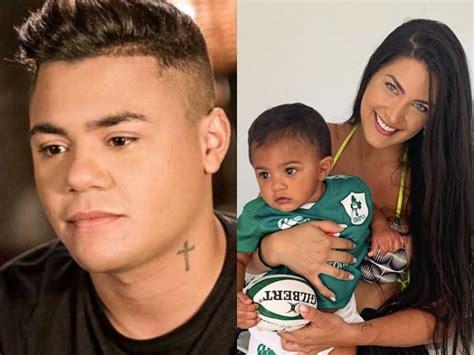 Mãe do filho de Felipe Araújo manda indireta para cantor ...