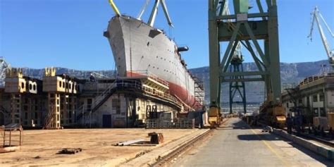 U Brodosplitu porinuće najvećeg jedrenjaka na svijetu ...