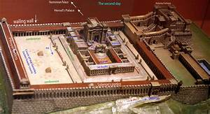 Temple Built By King Herod  Showing The Layout Of The