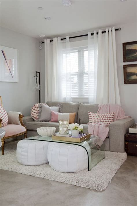 white pink living room   pink living rooms ideas