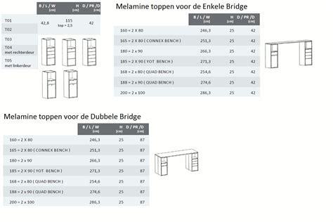Afmeting Keukenlade by Robberechts Bridge Kast De Projectinrichter