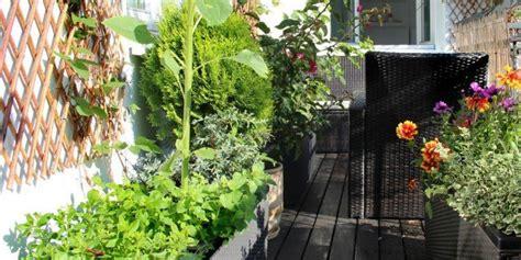 terrazzo in fiore proteggere dal freddo le piante sul balcone cose di casa