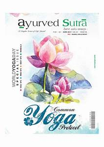 Ayurveda Magazine  Common Yoga Protocol