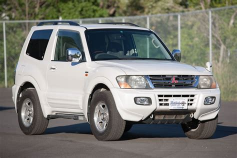 Due to the name pajero roughly translating to wanker in spanish. 2000 MItsubishi Pajero for sale - RSMC Vehicle - $15,985