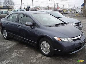 Honda Civic Hybride : 2008 magnetic pearl honda civic hybrid sedan 27771267 car color galleries ~ Gottalentnigeria.com Avis de Voitures