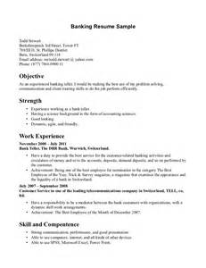 resume objective exles for accounting manager resume 100 curriculum vitae bank cashier cover sle resume for a bank teller with no