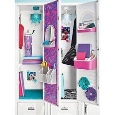 container store locker display featuring lockerlookz