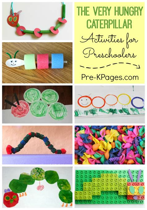 25 activities for the hungry caterpillar pre k pages 889 | The Very Hungry Caterpillar Activities for Preschool